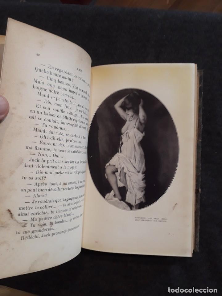 Libros antiguos: Maud. Femme du monde cambrioleuse. Antonin Reschal. C. 1900 ilustrado Kirchner, erotismo Macedonio - Foto 12 - 208069066