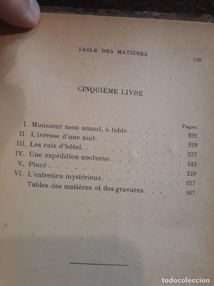 Libros antiguos: Maud. Femme du monde cambrioleuse. Antonin Reschal. C. 1900 ilustrado Kirchner, erotismo Macedonio - Foto 13 - 208069066
