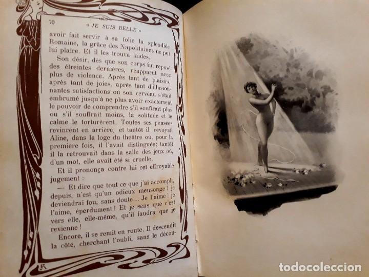 JE SUS BELLE. V. DU SAUSSAY. C. 1900 30 GRABADOS DUPONT FOTOS NADAR. REUTLINGER, DOWNEY. MACEDONIO (Libros antiguos (hasta 1936), raros y curiosos - Literatura - Narrativa - Erótica)