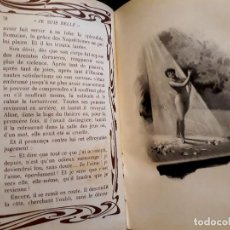 Libros antiguos: JE SUS BELLE. V. DU SAUSSAY. C. 1900 30 GRABADOS DUPONT FOTOS NADAR. REUTLINGER, DOWNEY. MACEDONIO. Lote 208077690
