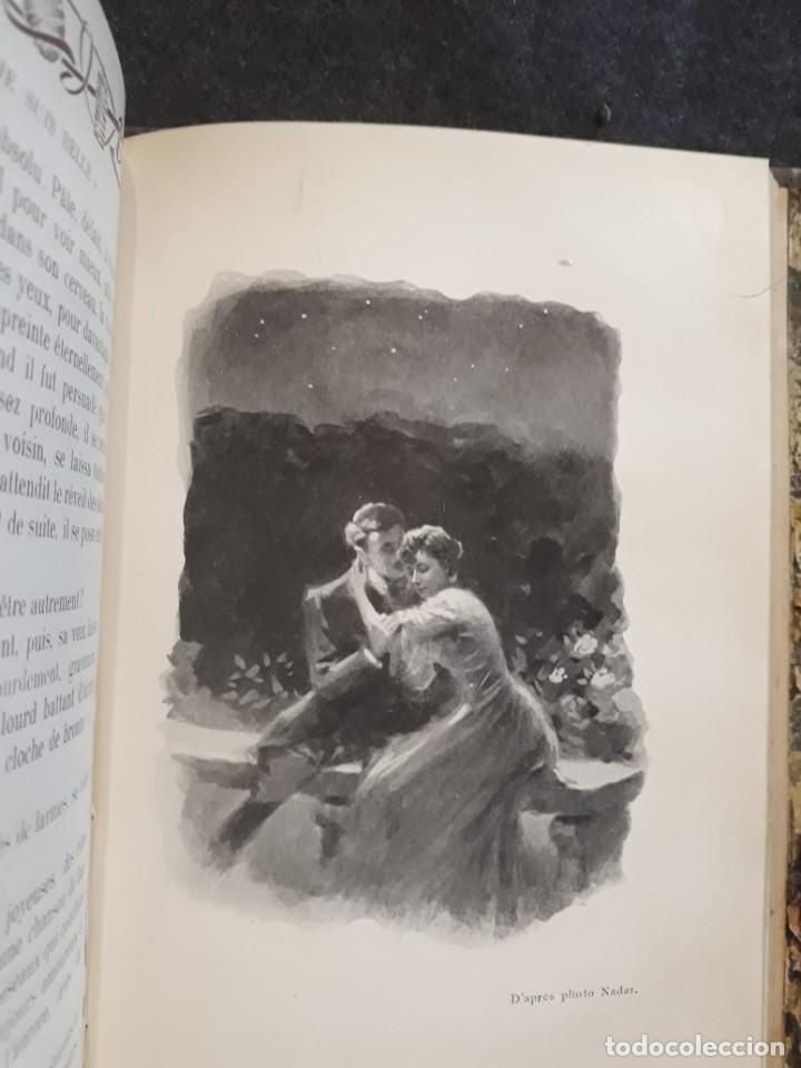 Libros antiguos: Je sus belle. V. Du Saussay. C. 1900 30 grabados Dupont fotos Nadar. Reutlinger, Downey. MACEDONIO - Foto 2 - 208077690
