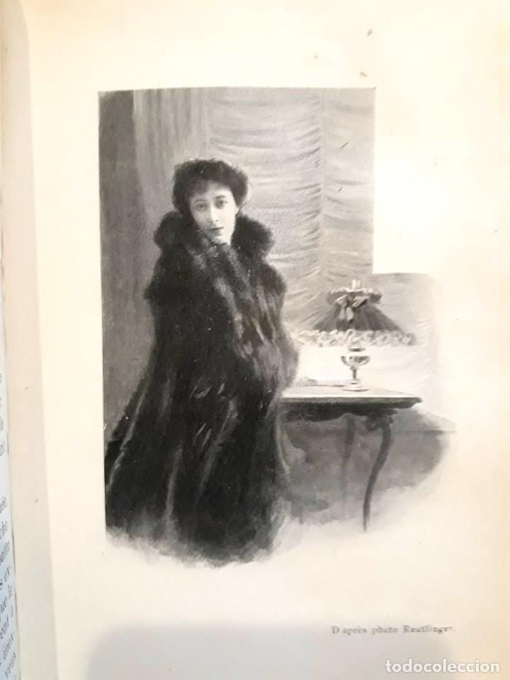 Libros antiguos: Je sus belle. V. Du Saussay. C. 1900 30 grabados Dupont fotos Nadar. Reutlinger, Downey. MACEDONIO - Foto 7 - 208077690