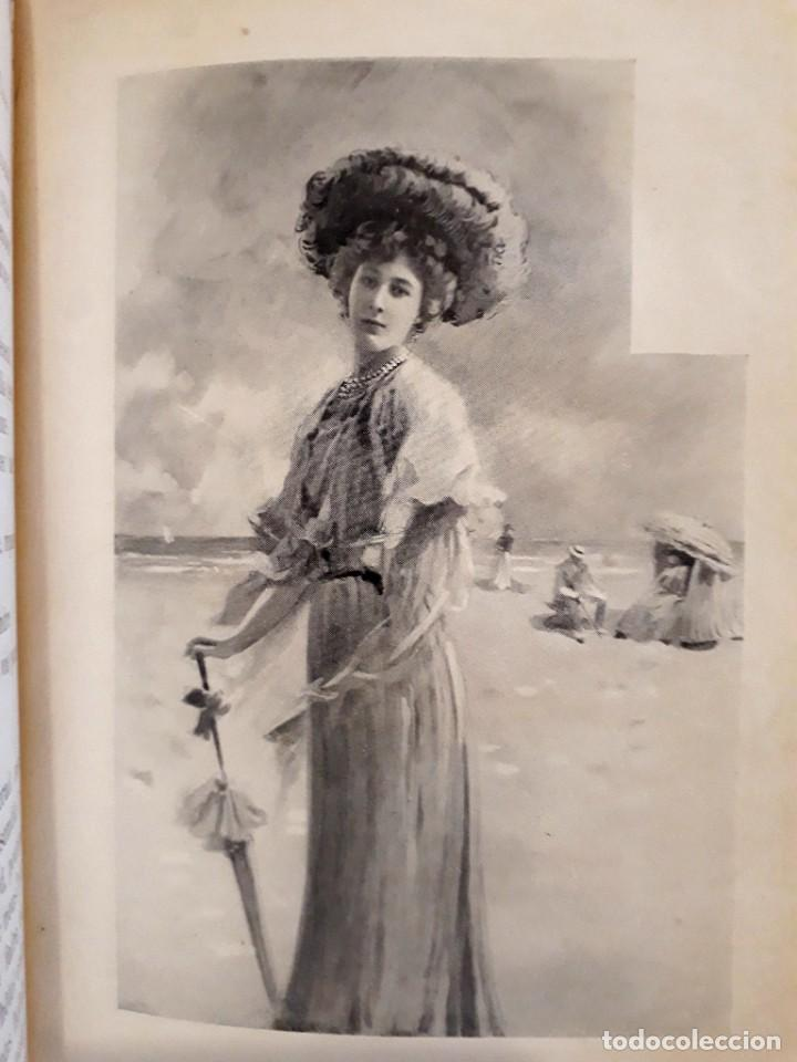 Libros antiguos: Je sus belle. V. Du Saussay. C. 1900 30 grabados Dupont fotos Nadar. Reutlinger, Downey. MACEDONIO - Foto 9 - 208077690