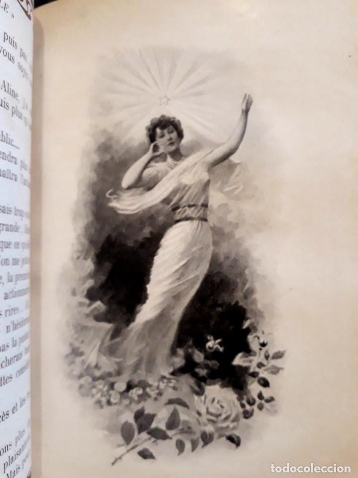 Libros antiguos: Je sus belle. V. Du Saussay. C. 1900 30 grabados Dupont fotos Nadar. Reutlinger, Downey. MACEDONIO - Foto 18 - 208077690