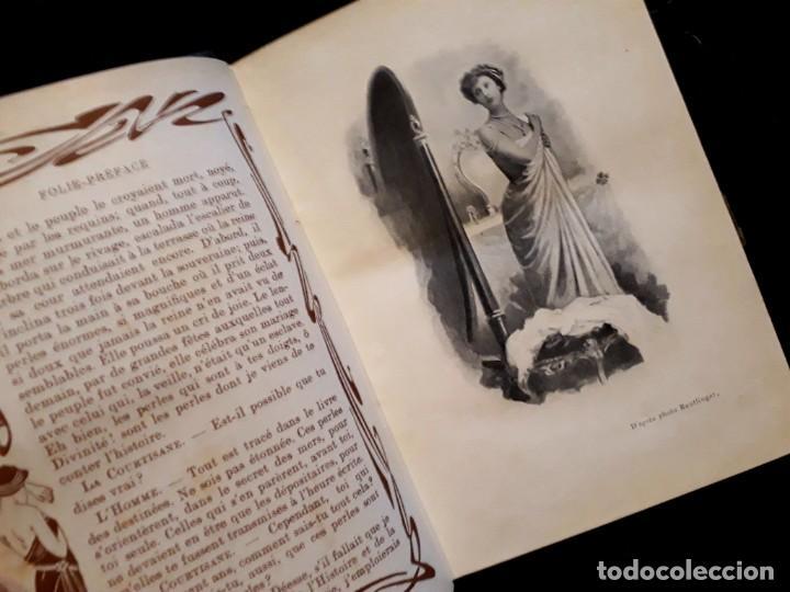 Libros antiguos: Je sus belle. V. Du Saussay. C. 1900 30 grabados Dupont fotos Nadar. Reutlinger, Downey. MACEDONIO - Foto 20 - 208077690