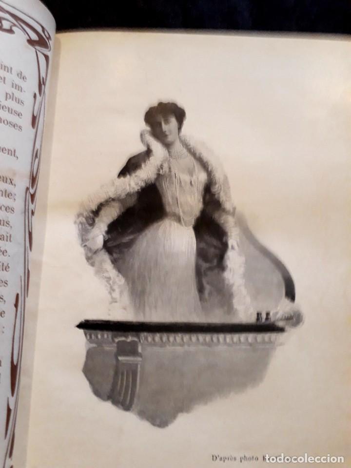 Libros antiguos: Je sus belle. V. Du Saussay. C. 1900 30 grabados Dupont fotos Nadar. Reutlinger, Downey. MACEDONIO - Foto 21 - 208077690