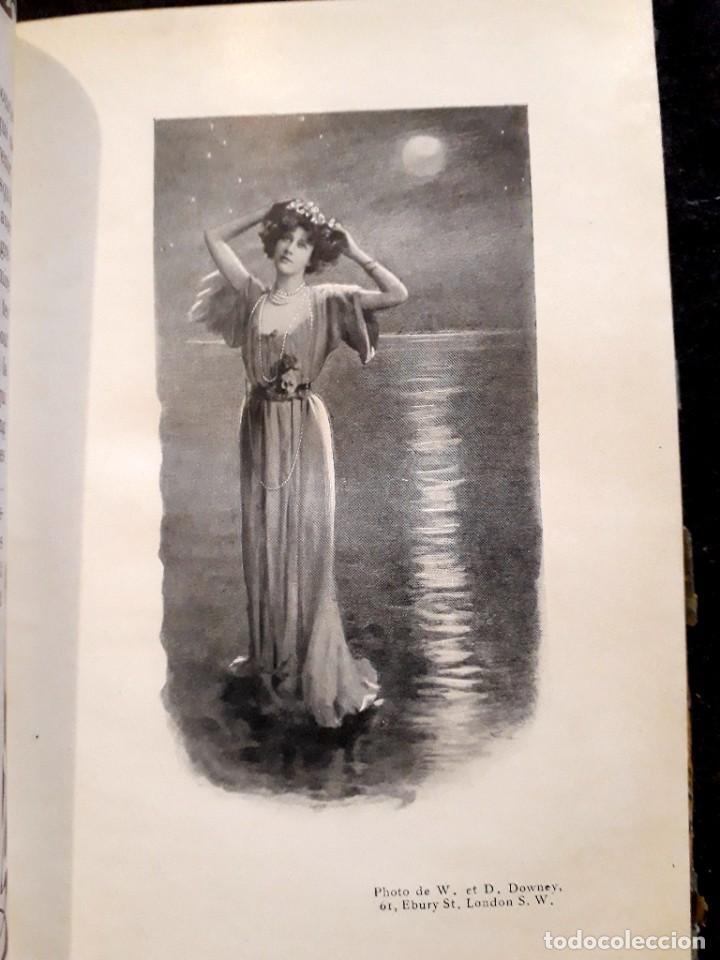 Libros antiguos: Je sus belle. V. Du Saussay. C. 1900 30 grabados Dupont fotos Nadar. Reutlinger, Downey. MACEDONIO - Foto 23 - 208077690