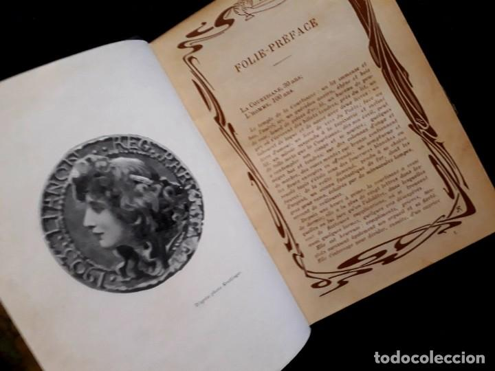 Libros antiguos: Je sus belle. V. Du Saussay. C. 1900 30 grabados Dupont fotos Nadar. Reutlinger, Downey. MACEDONIO - Foto 25 - 208077690