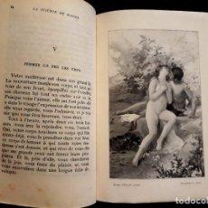 Libros antiguos: LA SCIENCE DU BAISER. V. SAUSSAY. CON ILUSTRACIONES. EROTISMO 1/2 CUERO. MACEDONIO FERNÁNDEZ. Lote 208101540