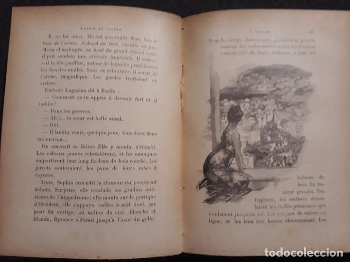 Libros antiguos: BASILE ET SOPHIA. PAUL ADAM DIBUJOS ERÓTICOS DUFAU Y GRABADOS LEMOINE MACEDONIO Fernández - Foto 3 - 208105392