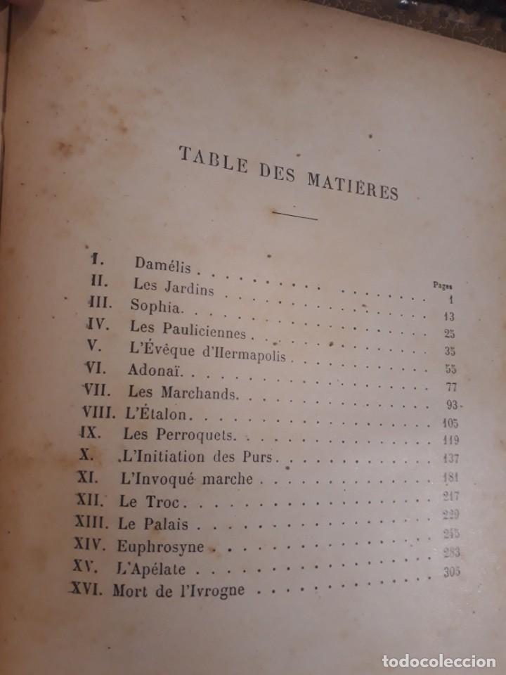 Libros antiguos: BASILE ET SOPHIA. PAUL ADAM DIBUJOS ERÓTICOS DUFAU Y GRABADOS LEMOINE MACEDONIO Fernández - Foto 4 - 208105392