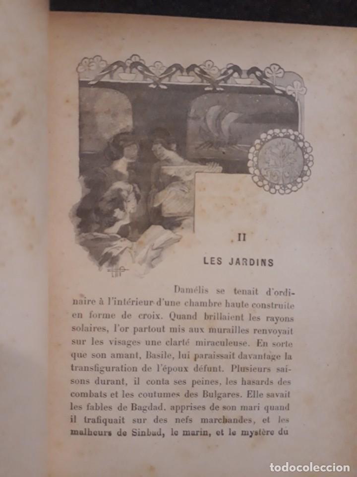 Libros antiguos: BASILE ET SOPHIA. PAUL ADAM DIBUJOS ERÓTICOS DUFAU Y GRABADOS LEMOINE MACEDONIO Fernández - Foto 5 - 208105392