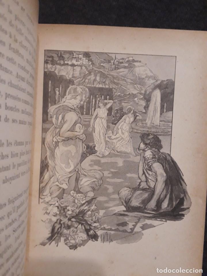 Libros antiguos: BASILE ET SOPHIA. PAUL ADAM DIBUJOS ERÓTICOS DUFAU Y GRABADOS LEMOINE MACEDONIO Fernández - Foto 6 - 208105392