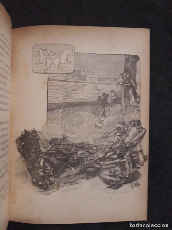Libros antiguos: BASILE ET SOPHIA. PAUL ADAM DIBUJOS ERÓTICOS DUFAU Y GRABADOS LEMOINE MACEDONIO Fernández - Foto 10 - 208105392