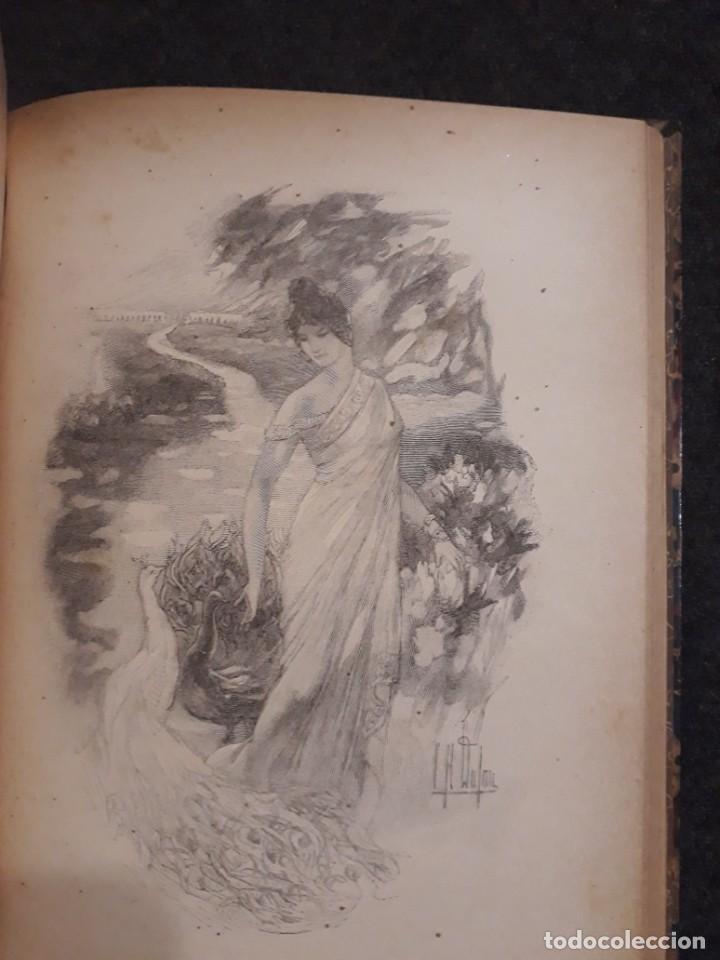 Libros antiguos: BASILE ET SOPHIA. PAUL ADAM DIBUJOS ERÓTICOS DUFAU Y GRABADOS LEMOINE MACEDONIO Fernández - Foto 12 - 208105392