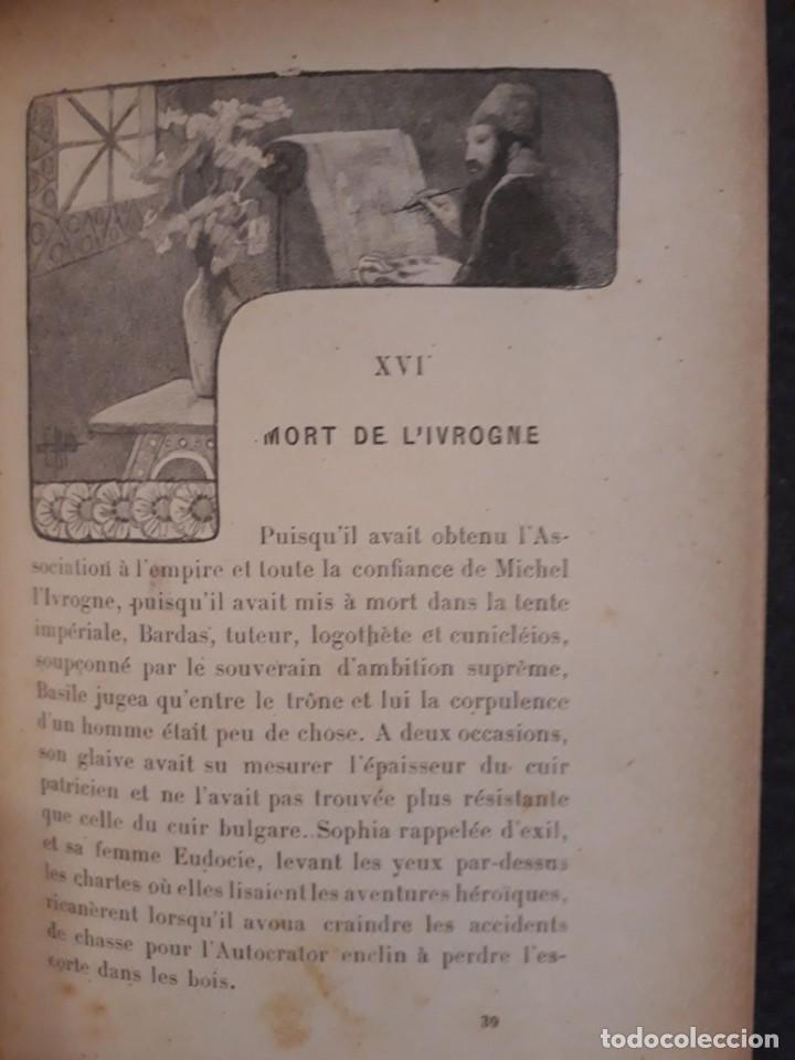 Libros antiguos: BASILE ET SOPHIA. PAUL ADAM DIBUJOS ERÓTICOS DUFAU Y GRABADOS LEMOINE MACEDONIO Fernández - Foto 14 - 208105392