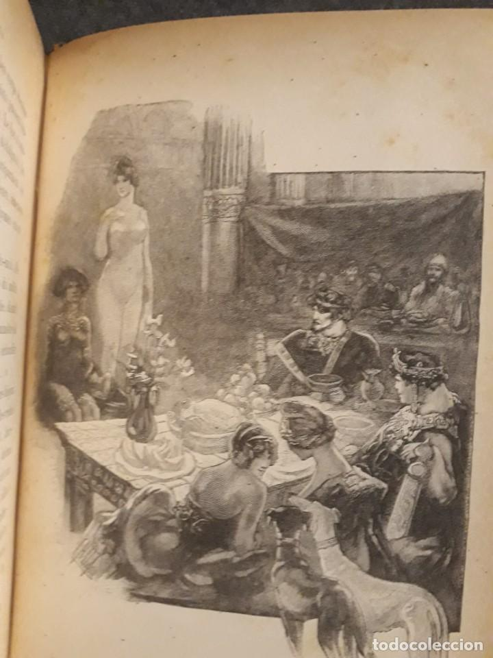 Libros antiguos: BASILE ET SOPHIA. PAUL ADAM DIBUJOS ERÓTICOS DUFAU Y GRABADOS LEMOINE MACEDONIO Fernández - Foto 16 - 208105392