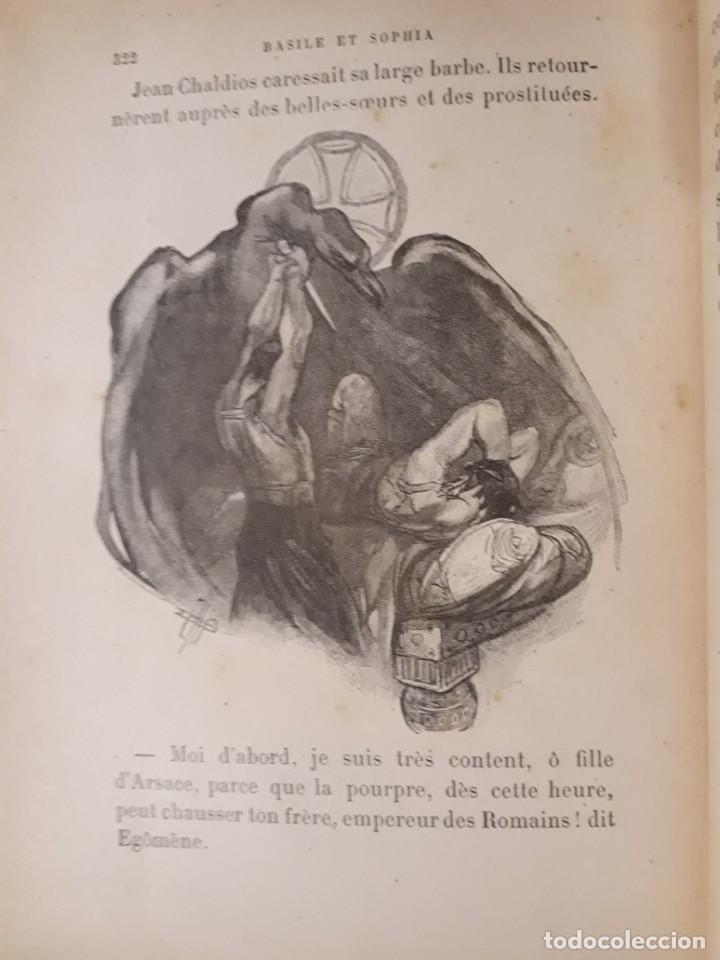 Libros antiguos: BASILE ET SOPHIA. PAUL ADAM DIBUJOS ERÓTICOS DUFAU Y GRABADOS LEMOINE MACEDONIO Fernández - Foto 17 - 208105392