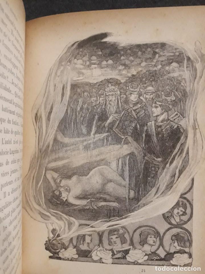 Libros antiguos: BASILE ET SOPHIA. PAUL ADAM DIBUJOS ERÓTICOS DUFAU Y GRABADOS LEMOINE MACEDONIO Fernández - Foto 19 - 208105392