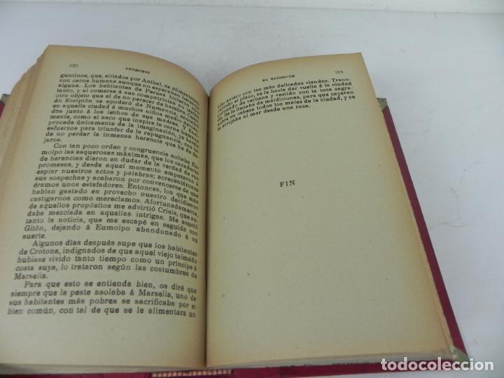 Libros antiguos: DAFNIS Y CLOE (LONGO) / EL SATIRICÓN (PETRONIO) / LA DONCELLA (VOLTAIRE) EN UN TOMO - Foto 11 - 208172753