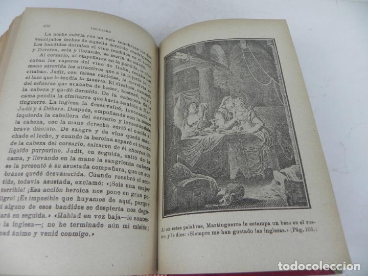 Libros antiguos: DAFNIS Y CLOE (LONGO) / EL SATIRICÓN (PETRONIO) / LA DONCELLA (VOLTAIRE) EN UN TOMO - Foto 15 - 208172753