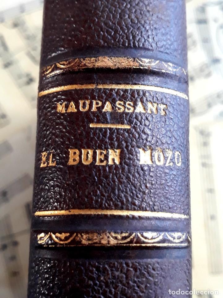 EL BUEN MOZO. GUY DE MAUPASSANT. 1905 DIBUJOS DE BAC. BIBLIOTECA DE MACEDONIO FERNÁNDEZ (Libros antiguos (hasta 1936), raros y curiosos - Literatura - Narrativa - Erótica)