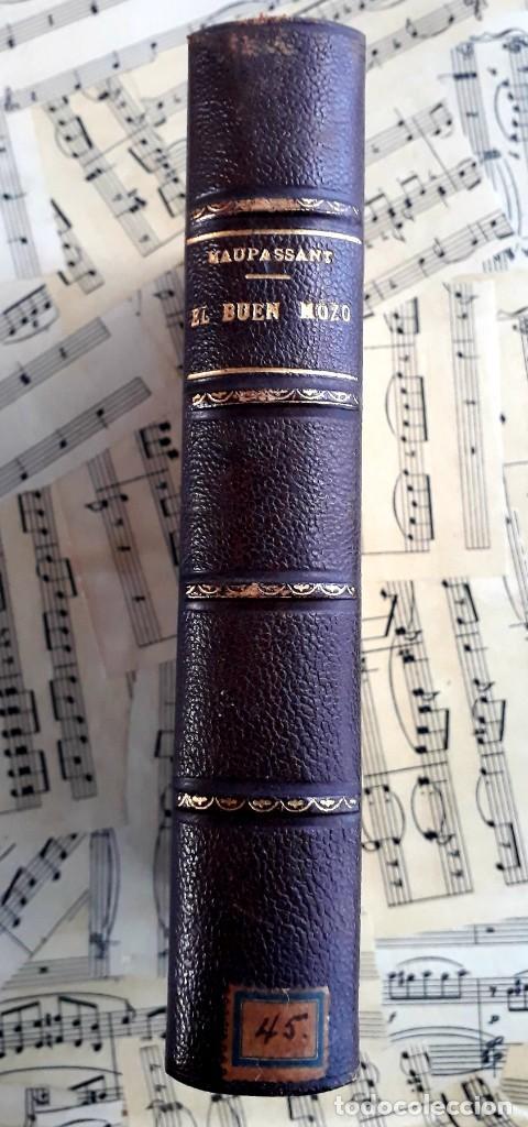 Libros antiguos: El BUEN MOZO. GUY DE MAUPASSANT. 1905 DIBUJOS DE BAC. Biblioteca de Macedonio Fernández - Foto 2 - 208174543