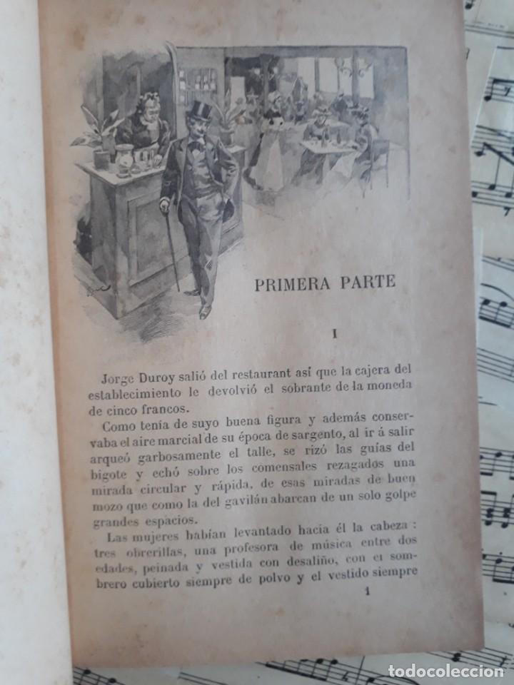 Libros antiguos: El BUEN MOZO. GUY DE MAUPASSANT. 1905 DIBUJOS DE BAC. Biblioteca de Macedonio Fernández - Foto 6 - 208174543