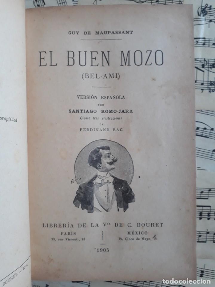 Libros antiguos: El BUEN MOZO. GUY DE MAUPASSANT. 1905 DIBUJOS DE BAC. Biblioteca de Macedonio Fernández - Foto 8 - 208174543