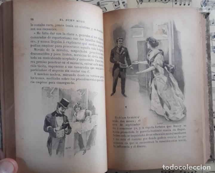 Libros antiguos: El BUEN MOZO. GUY DE MAUPASSANT. 1905 DIBUJOS DE BAC. Biblioteca de Macedonio Fernández - Foto 9 - 208174543