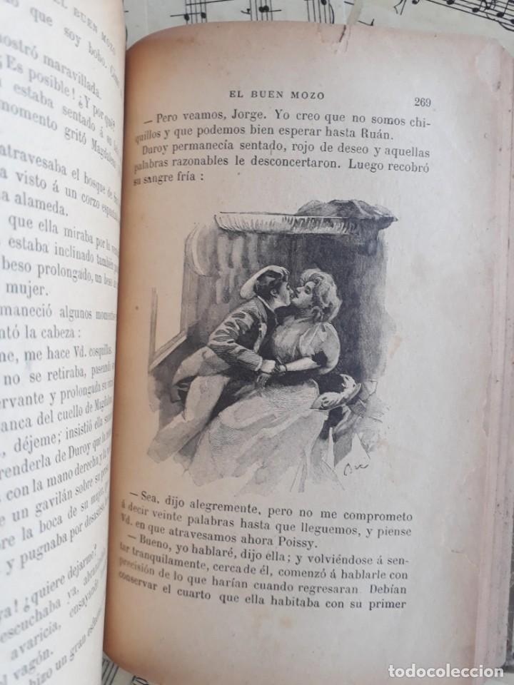Libros antiguos: El BUEN MOZO. GUY DE MAUPASSANT. 1905 DIBUJOS DE BAC. Biblioteca de Macedonio Fernández - Foto 13 - 208174543