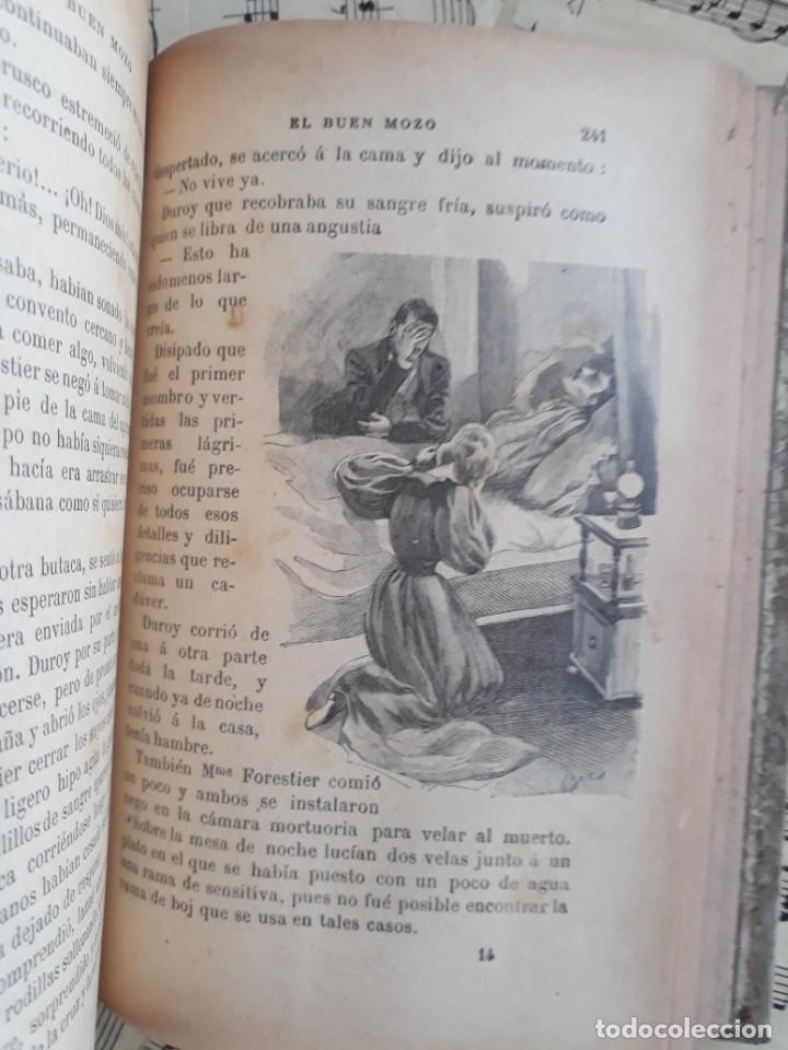 Libros antiguos: El BUEN MOZO. GUY DE MAUPASSANT. 1905 DIBUJOS DE BAC. Biblioteca de Macedonio Fernández - Foto 15 - 208174543