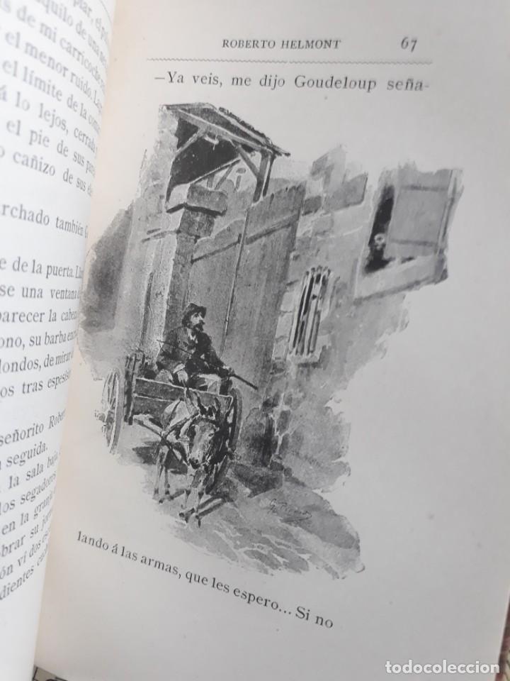 Libros antiguos: A. DAUDET 1889 HELMONT DIARIO DE UN SOLITARIO 115 grabados cromotipias. Bibl. de Macedonio Fernández - Foto 4 - 208178937