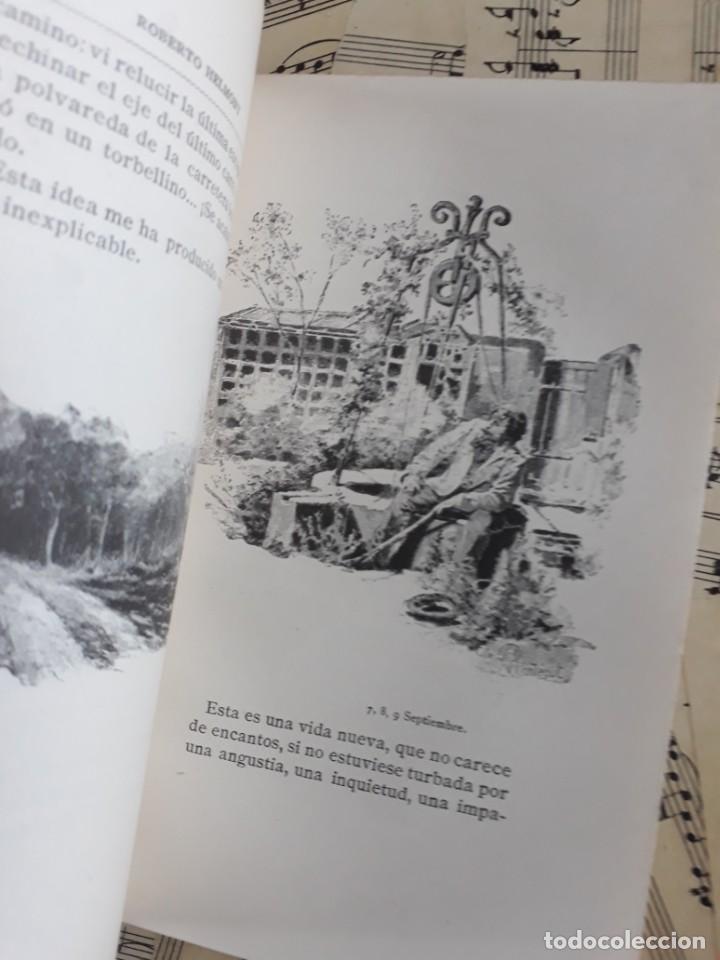Libros antiguos: A. DAUDET 1889 HELMONT DIARIO DE UN SOLITARIO 115 grabados cromotipias. Bibl. de Macedonio Fernández - Foto 6 - 208178937