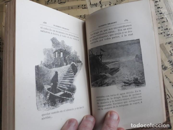 Libros antiguos: A. DAUDET 1889 HELMONT DIARIO DE UN SOLITARIO 115 grabados cromotipias. Bibl. de Macedonio Fernández - Foto 10 - 208178937