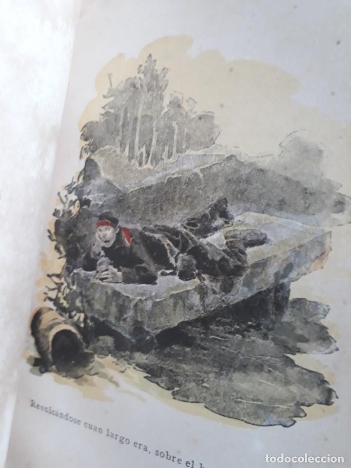 Libros antiguos: A. DAUDET 1889 HELMONT DIARIO DE UN SOLITARIO 115 grabados cromotipias. Bibl. de Macedonio Fernández - Foto 15 - 208178937