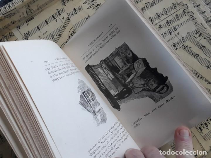 Libros antiguos: A. DAUDET 1889 HELMONT DIARIO DE UN SOLITARIO 115 grabados cromotipias. Bibl. de Macedonio Fernández - Foto 17 - 208178937