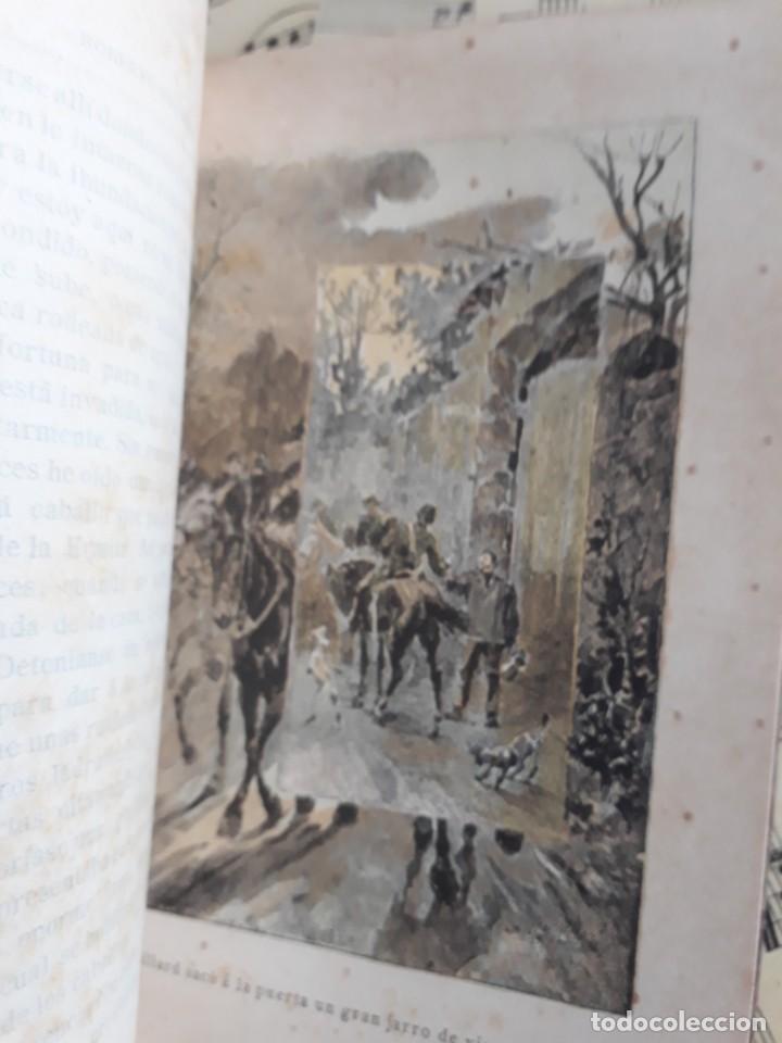 Libros antiguos: A. DAUDET 1889 HELMONT DIARIO DE UN SOLITARIO 115 grabados cromotipias. Bibl. de Macedonio Fernández - Foto 19 - 208178937