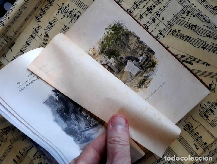 Libros antiguos: A. DAUDET 1889 HELMONT DIARIO DE UN SOLITARIO 115 grabados cromotipias. Bibl. de Macedonio Fernández - Foto 22 - 208178937