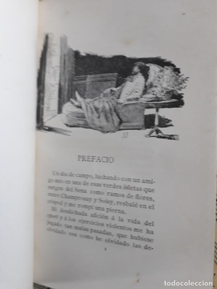 Libros antiguos: A. DAUDET 1889 HELMONT DIARIO DE UN SOLITARIO 115 grabados cromotipias. Bibl. de Macedonio Fernández - Foto 24 - 208178937