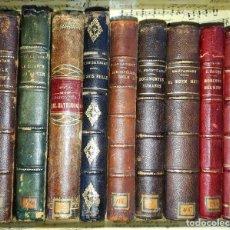 Libros antiguos: LOTE DE 8 LIBROS DE LITERATURA ERÓTICA PERTENECIENTE A BIBLIOTECA PERSONAL DE MACEDONIO FERNÁNDEZ. Lote 208183423