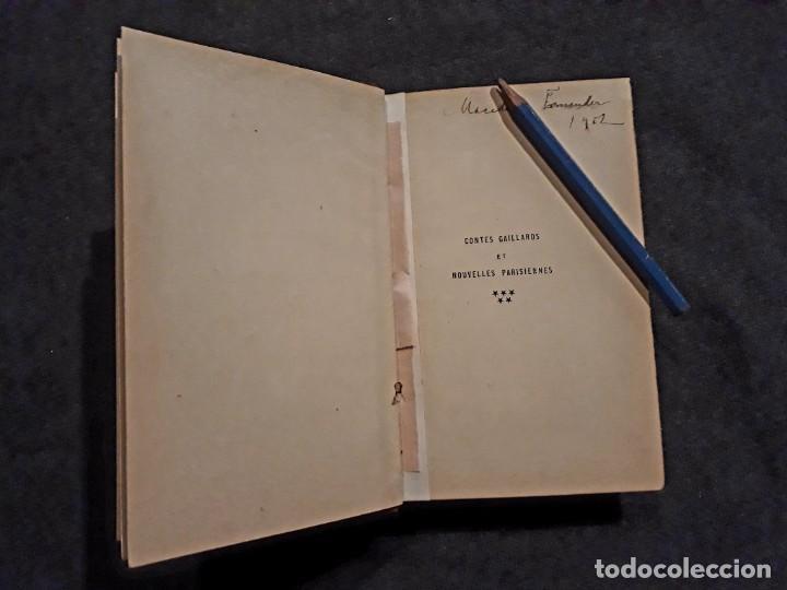 Libros antiguos: Lote de 8 libros de literatura erótica perteneciente a biblioteca personal de Macedonio Fernández - Foto 6 - 208183423