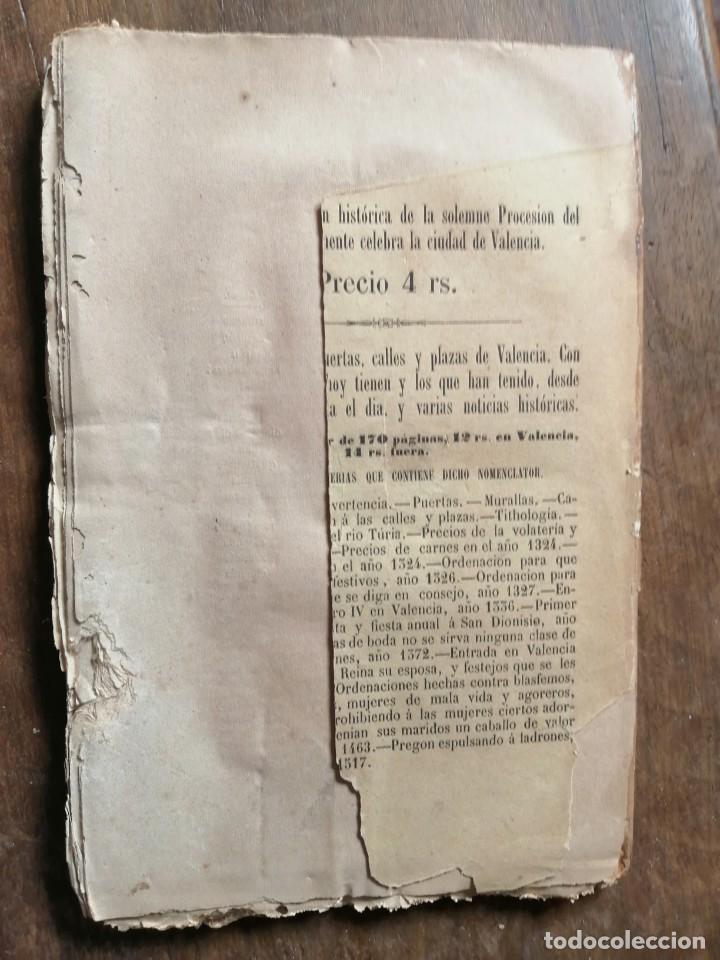 Libros antiguos: PICARONAS Y ALCAHUETES o LA MANCEBIA DE VALENCIA - MANUEL CAREBONERES - Foto 3 - 209043663