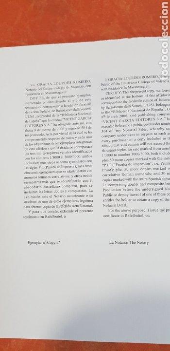 Libros antiguos: ISOLARIO BARTOLOMEO DALLI SONETTI - Foto 5 - 209155910