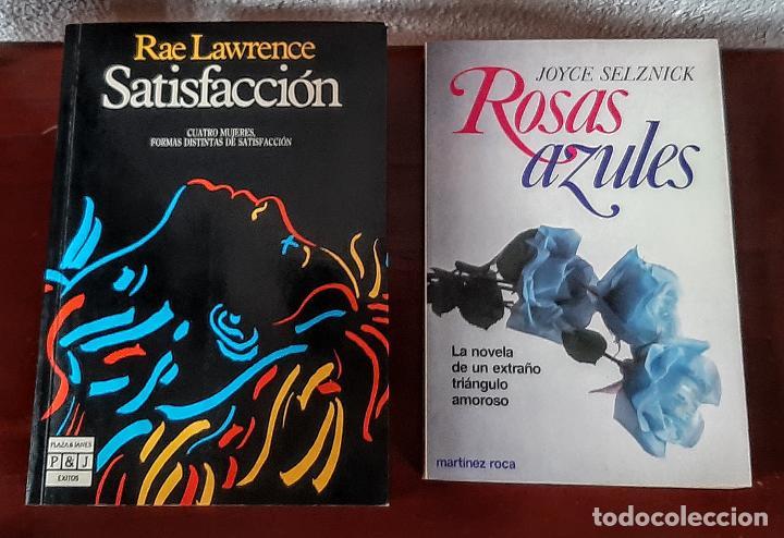 SATISFACCIÓN/ROSAS AZULES (Libros antiguos (hasta 1936), raros y curiosos - Literatura - Narrativa - Erótica)
