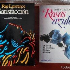 Libros antiguos: SATISFACCIÓN/ROSAS AZULES. Lote 211879332