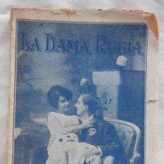 Libros antiguos: LA DAMA RUBIA. BIGNOTTI ANGELO. ED ATLANTE, BIBLIOTECA PICARESCA.. Lote 211962670