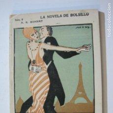 Livres anciens: LA NOVELA DE BOLSILLO-TANGUINOPOLIS-A.R. BONNAT-EROTICA-VER FOTOS-(V-21.361). Lote 212112433