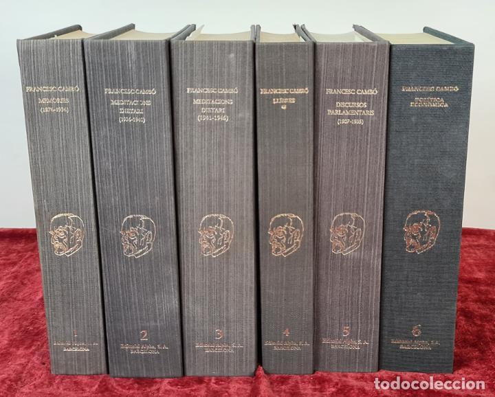 FRANCESC CAMBÓ. OBRAS. EDITORIAL ALPHA. VOLUMENES. 1981. (Libros antiguos (hasta 1936), raros y curiosos - Literatura - Narrativa - Erótica)