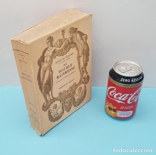 Libros antiguos: LIBRO EROTICO LA DOUBLE MAITRESSE HENRI DE REGNIER, TRIANON 1930 EDICION NUMERADA 1609 DE 1850 - Foto 2 - 214926286